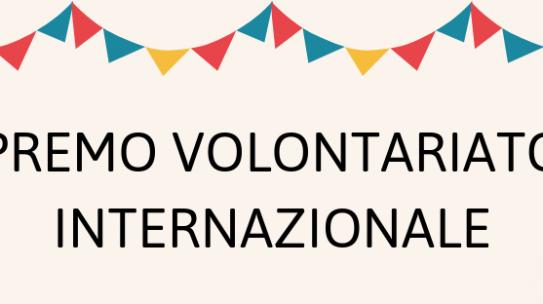 26° edizione del premio volontariato internazionale